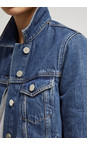 French Connection Washed Vintage  Western Denim Jacket
