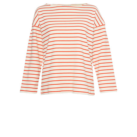 Great Plains Monroe Stripe Knit Top - Beige