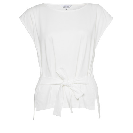 Great Plains Talia Tie Top - Off-White