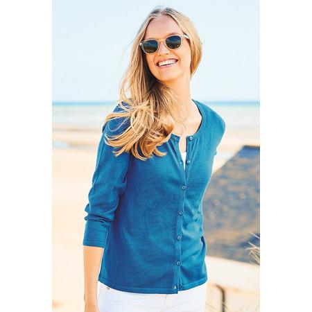 Adini Dulcie Knit Dulcie Cardigan - Blue