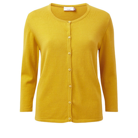 Adini Dulcie Knit Dulcie Cardigan - Yellow