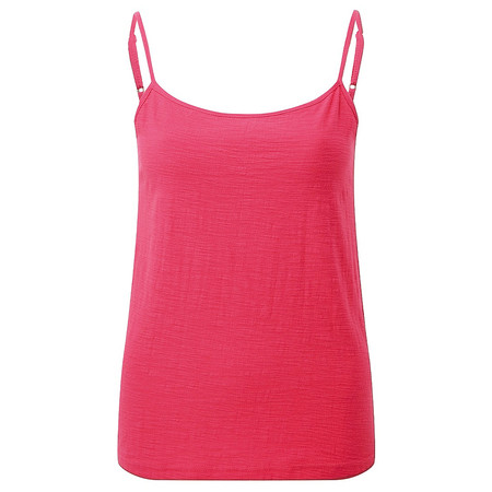 Adini Cotton Slub Skye Camisole - Red