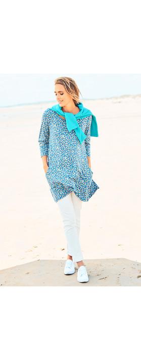 Adini Triple Spot Rachel Tunic French Blue