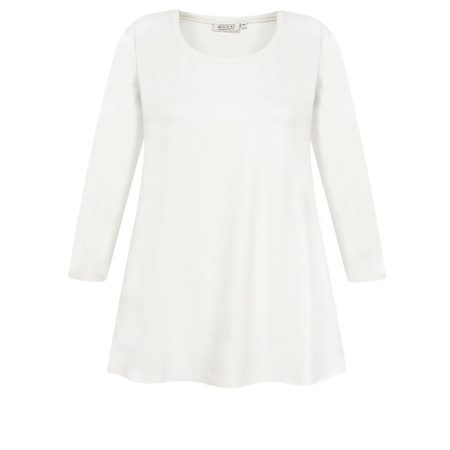 Masai Clothing Cilla Basic Top - Off-White