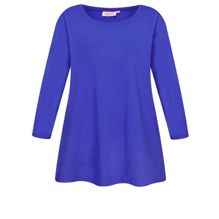Masai Clothing Cilla Basic Top - Blue