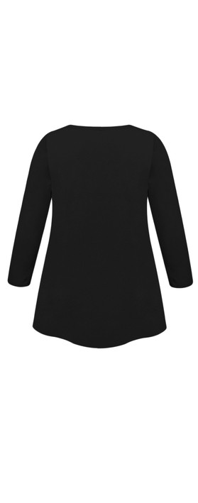 Masai Clothing Cilla Basic Top Black