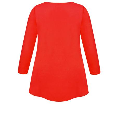 Masai Clothing Cilla Basic Top - Red