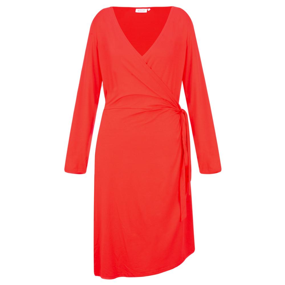 Masai Clothing Neba Wrap Dress Chili
