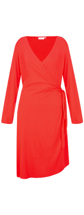 Masai Clothing Neba Wrap Dress Chili