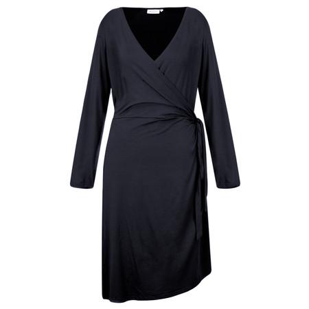 Masai Clothing Neba Wrap Dress - Blue