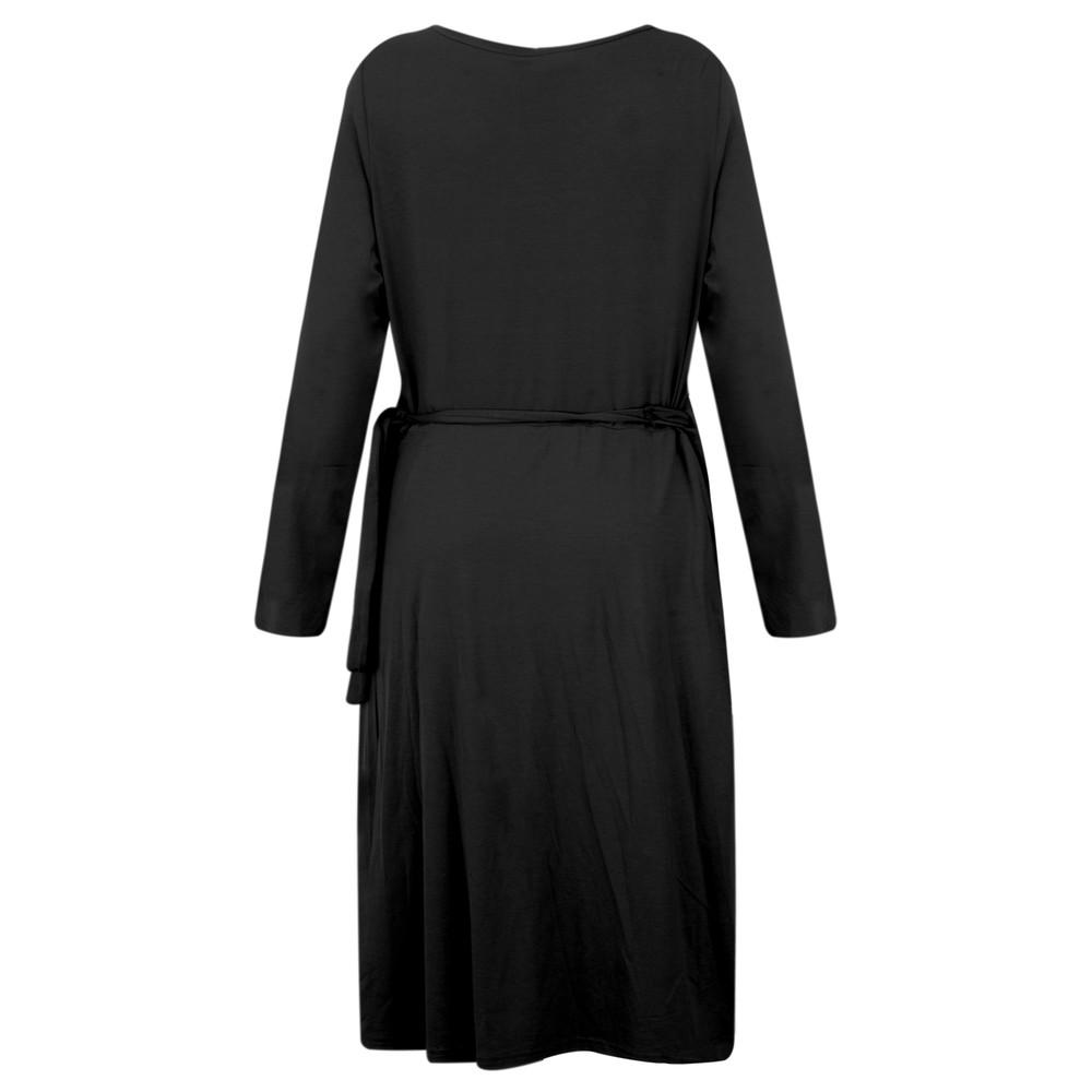 Masai Clothing Neba Wrap Dress Black