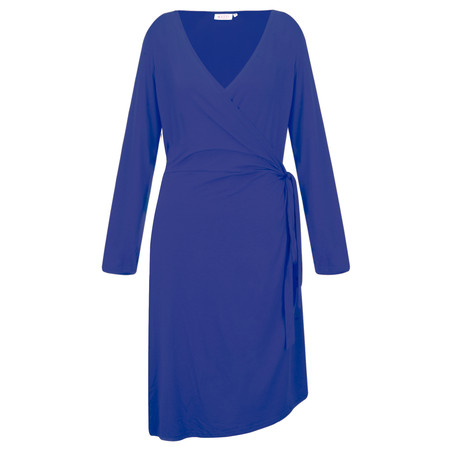 Masai Clothing Neba Wrap Dress - Blue