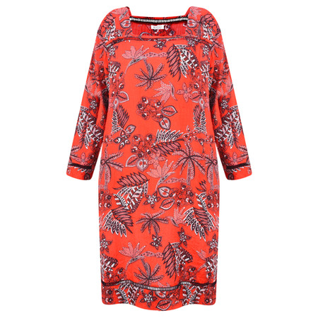 Masai Clothing Nasira Dress - Red