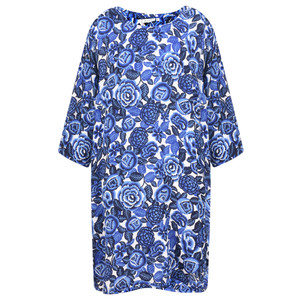 Masai Clothing Floral Print Garnette Tunic Dress