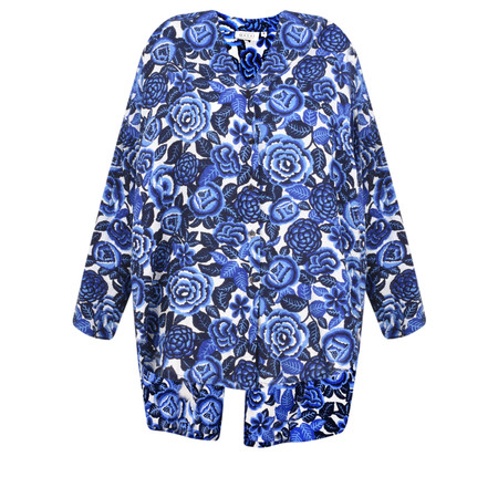 Masai Clothing Floral Print Ida Blouse - Blue