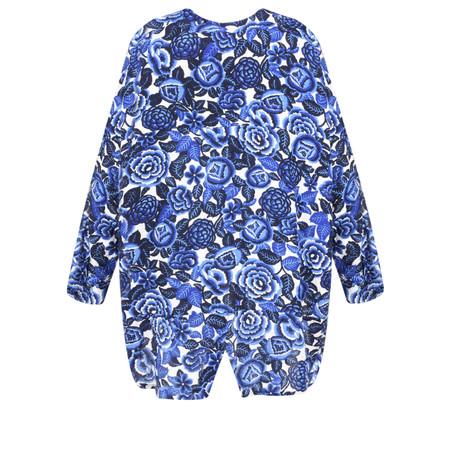Masai Clothing Floral Print Ida Blouse - Blue