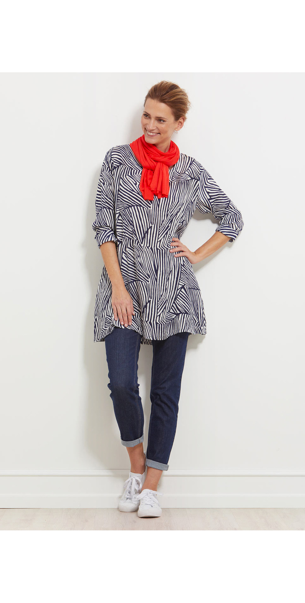 Gamila Abstract Tunic main image