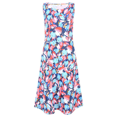 Adini Layla Print Layla Dress - Blue