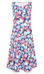 Adini Riviera Blue Layla Print Layla Dress