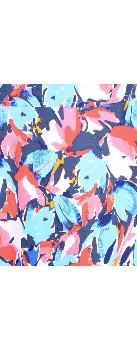 Adini Layla Print Layla Dress Riviera Blue