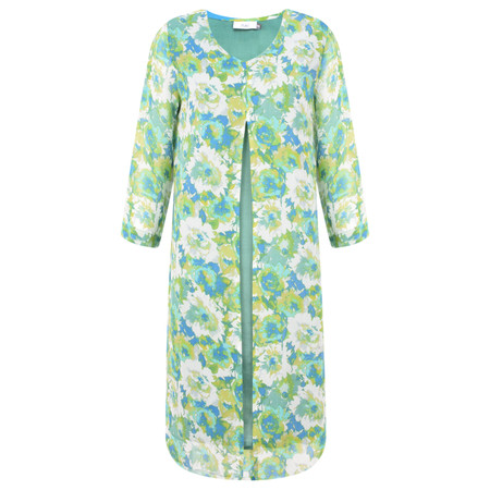 Adini Celeste Print Nadine Dress - Green