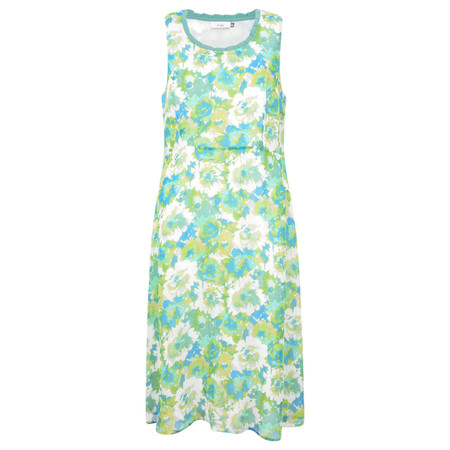 Adini Celeste Print Celeste Dress - Green
