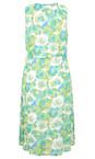 Adini Meadow Celeste Print Celeste Dress