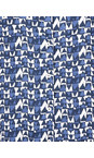 Adini Navy Shimla Print Uma Tunic