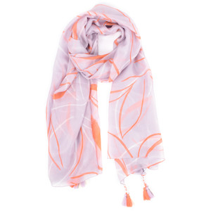 Great Plains Ava Abstract Silk Scarf