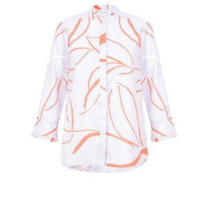 Great Plains Ava Abstract Blouse