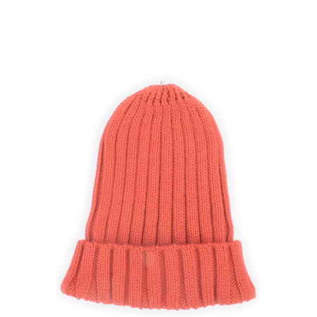 Bitz of Glitz Anna Ribbed Beanie Hat - Orange