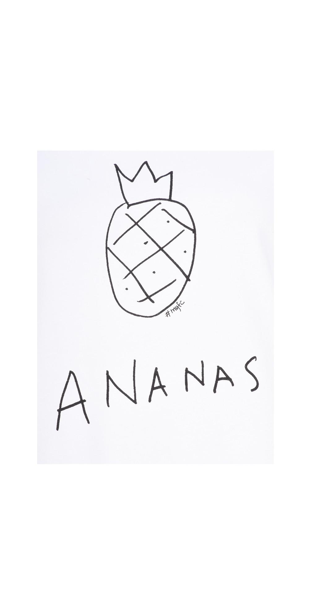 Ananas Tee Top main image
