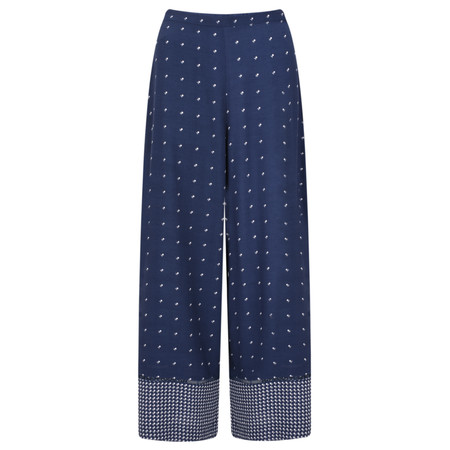French Connection Catalina Drape Culottes - Blue