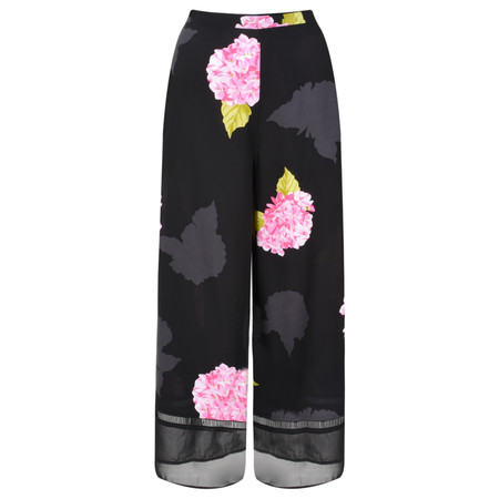 French Connection Eleanore Drape Culottes - Black