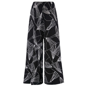 Sahara Abstract Line Jersey Trouser