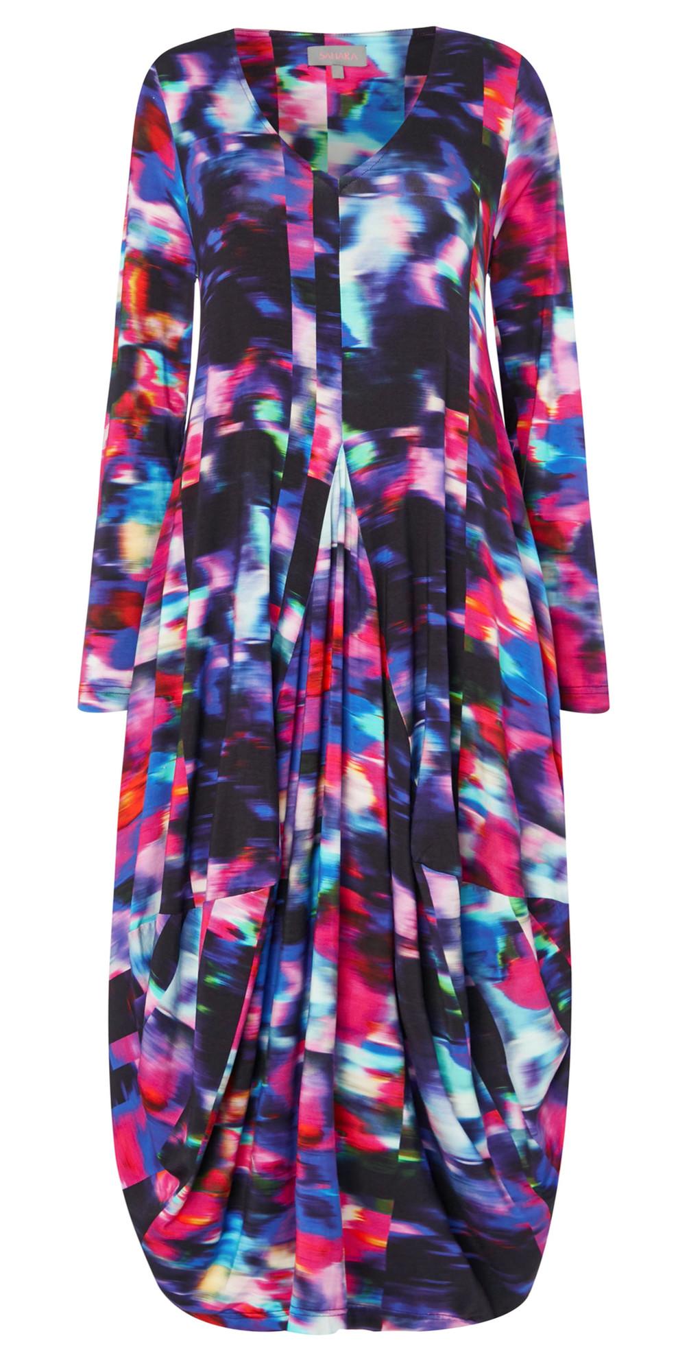 Mali Print Jersey Dress main image
