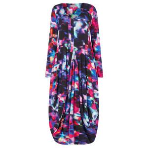 Sahara Mali Print Jersey Dress