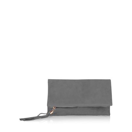 Gemini Label Bags Silvi Clutch Bag - Grey