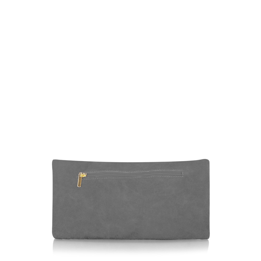 Gemini Label Bags Silvi Clutch Bag Dark Grey