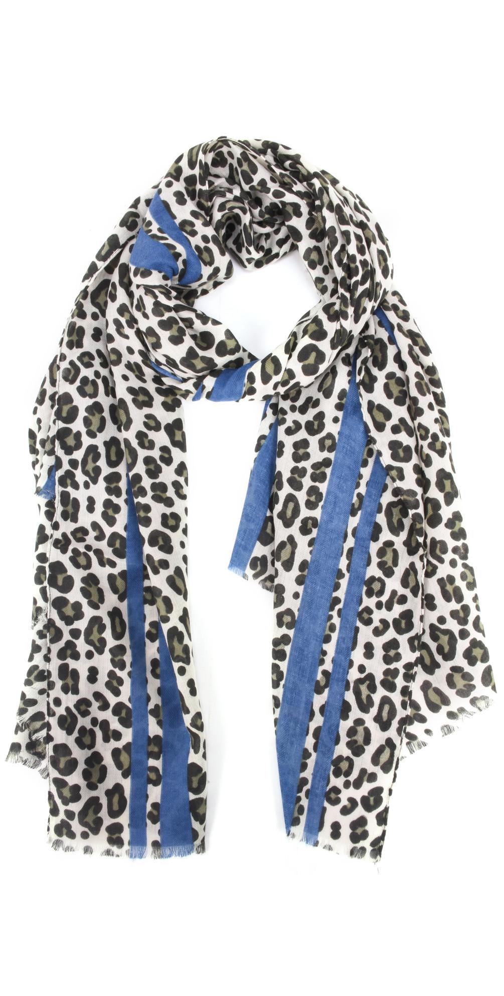 Leni Leopard Scarf main image