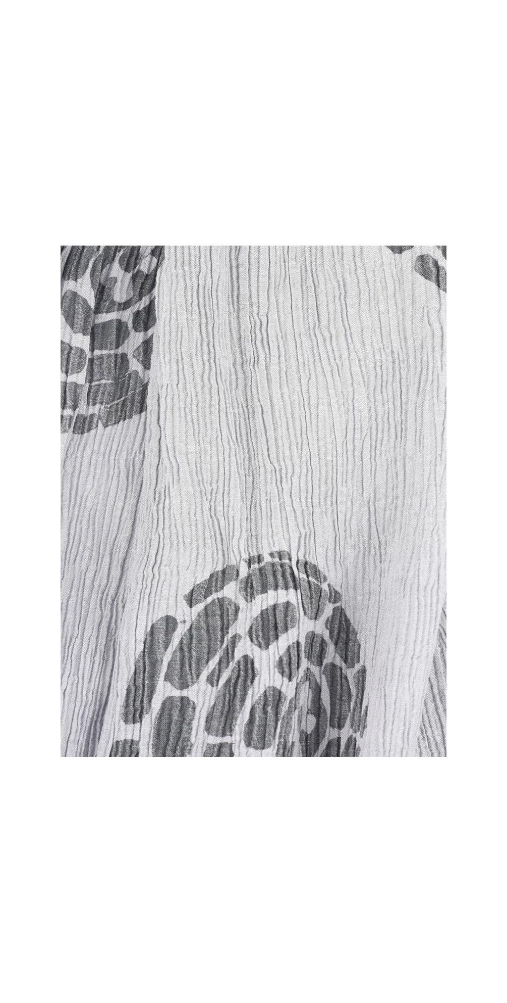 Urte Printed Crinkle Scarf main image