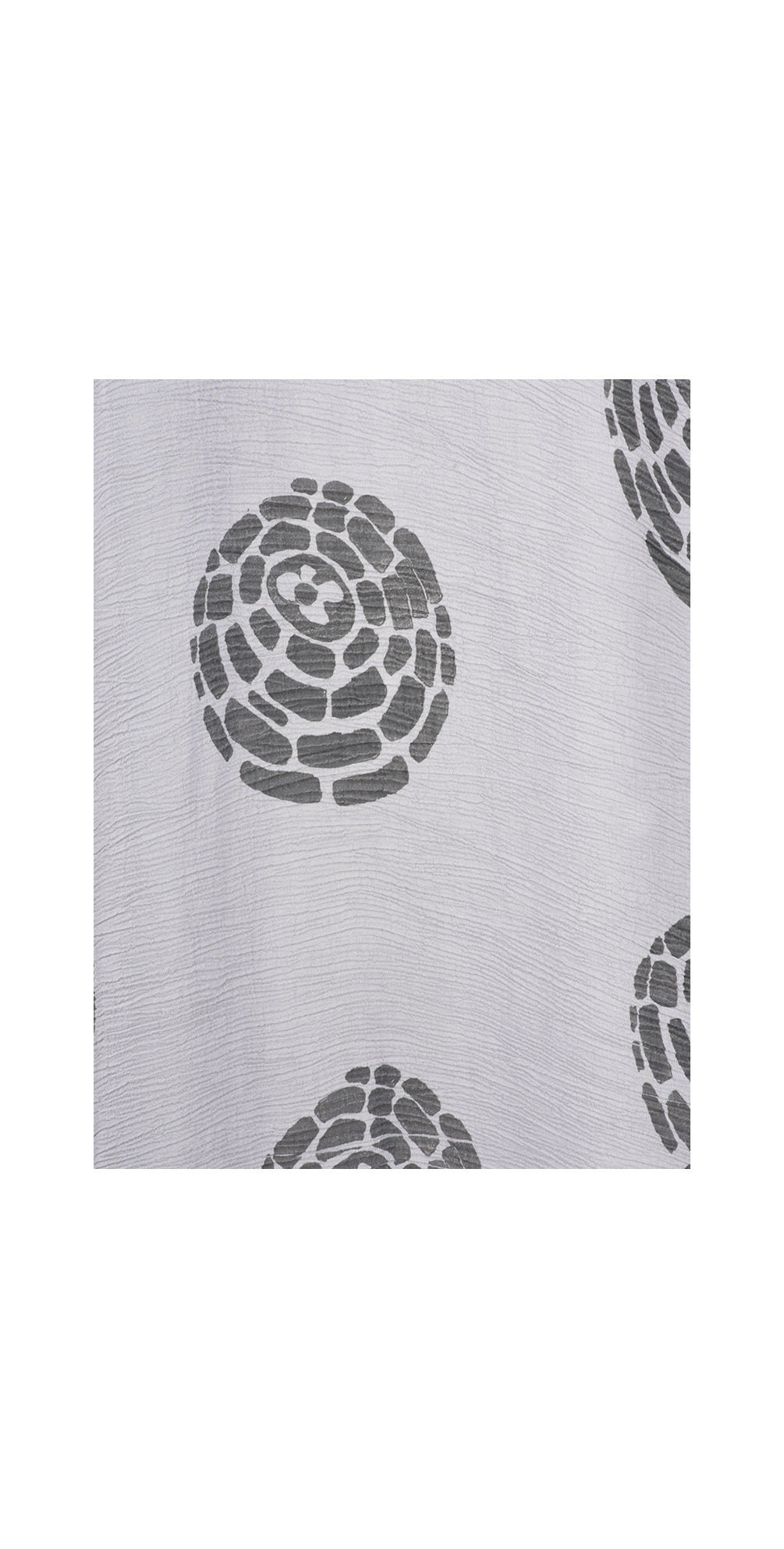 Domi Printed Crinkle Long Tunic main image