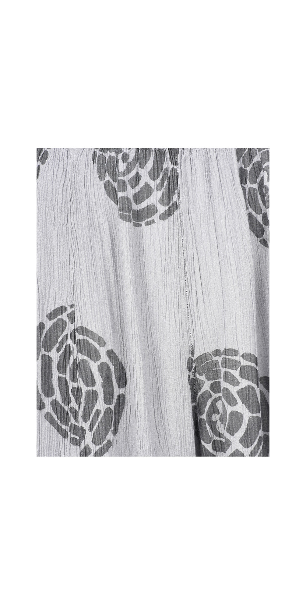 Vilma Printed Crinkle Cuffed Trouser main image