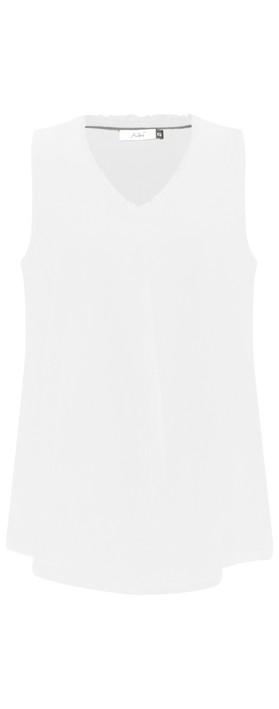 Adini Cotton Voile Jena Top White