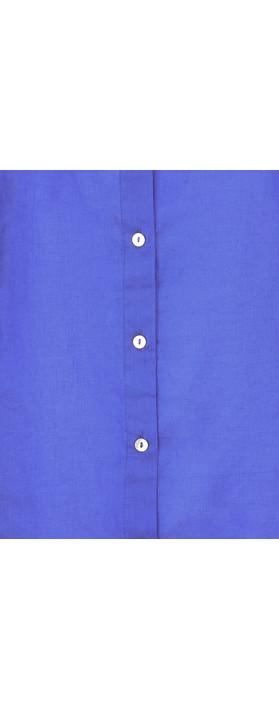 Adini Cotton Voile Leyla Tunic Cobalt