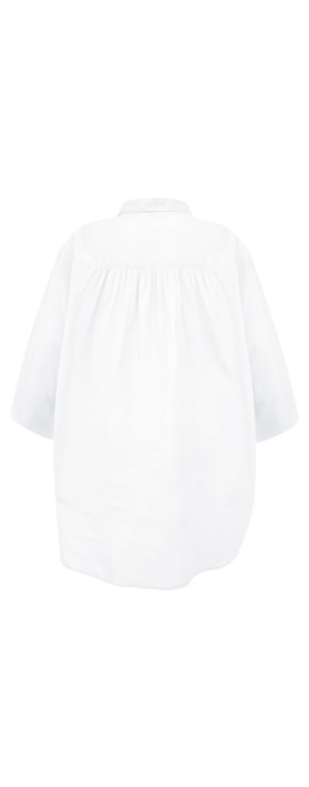 Adini Cotton Voile Leyla Tunic White