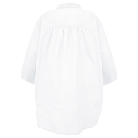 Adini Cotton Voile Leyla Tunic - White