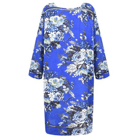 Masai Clothing Floral Nasira Dress - Blue