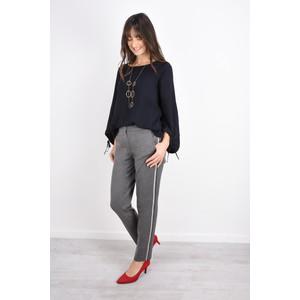 Robell  Smart Side Stripe Full Length Trouser