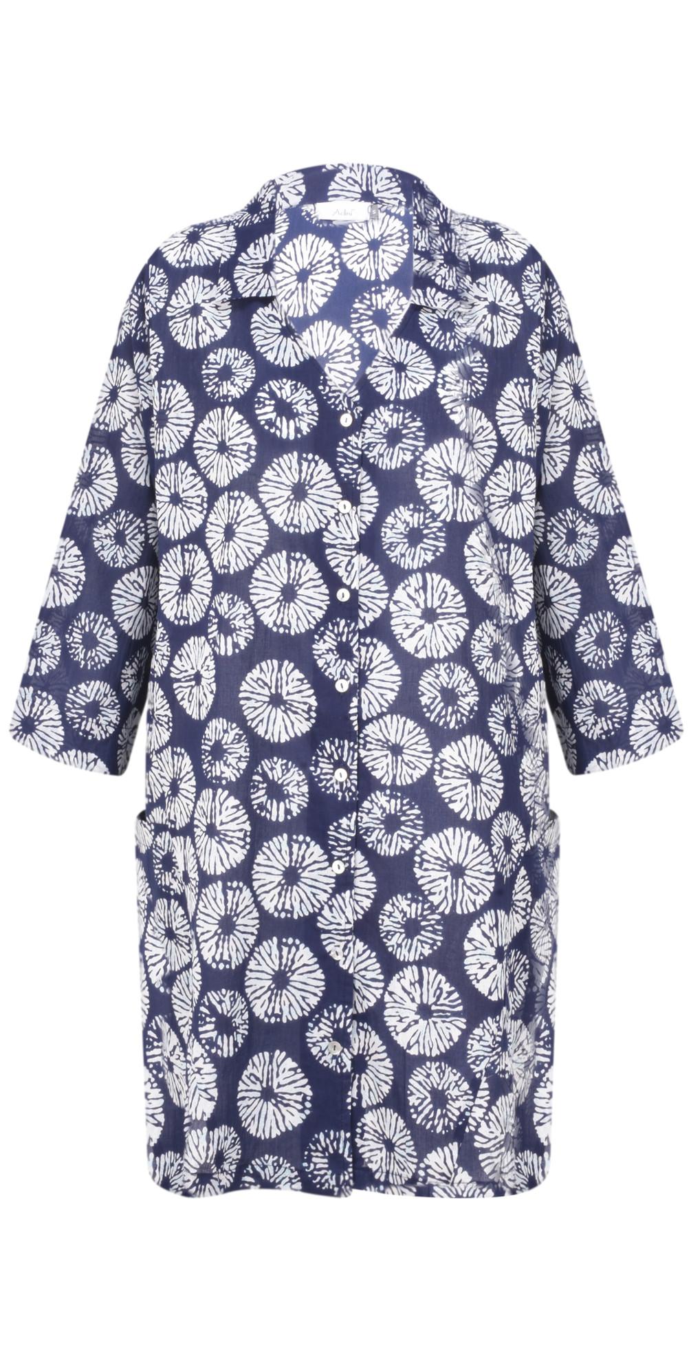 Samoa Print Ocean Tunic main image